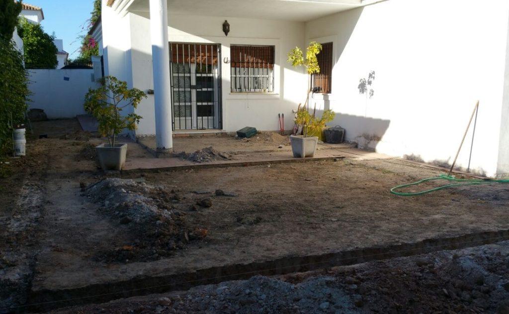 Microcemento para exteriores Ávila